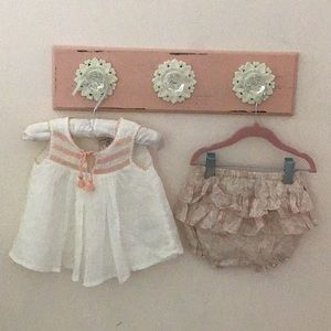 Infant outfit soft fabric dress made in India